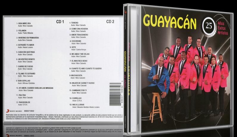 Guayacán Orquesta - 25 Años, 25 Exitos, 25 Artistas (2013) [MP3 @320 Kbps]