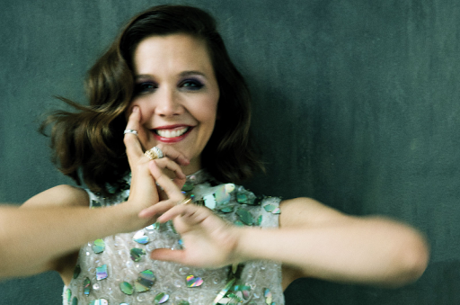 Maggie Gyllenhaal Marni Dress DeBeers Diamonds