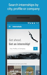 Internshala: Internship Search App for Students- screenshot thumbnail