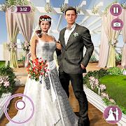 Newlyweds Happy Couple