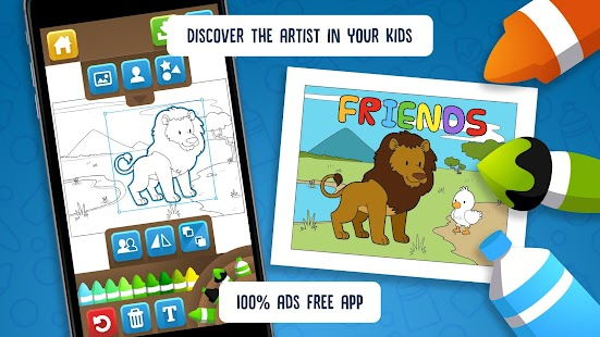 Hellokids Animal Coloring Time- screenshot thumbnail