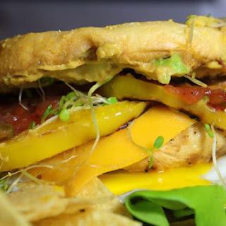 Over Easy Grilled Chicken Sandwich.