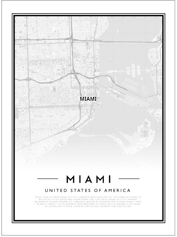 CITY MAP - MIAMI