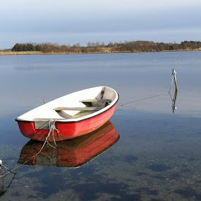 Boat  by Karl Erik Straarup - Transportation Boats