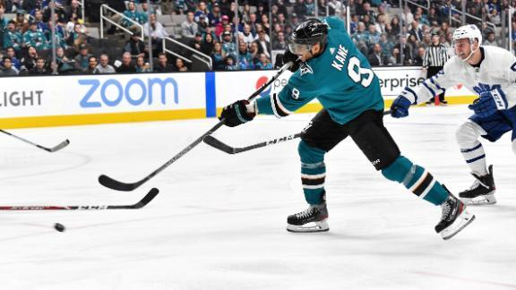 Sharks beat Maple Leafs 5-2 for 3rd straight win - ABC7 San Francisco