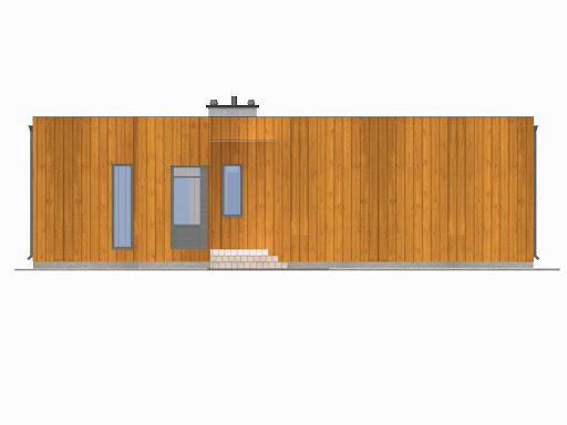 D193 - Dom Prosty - Elewacja przednia