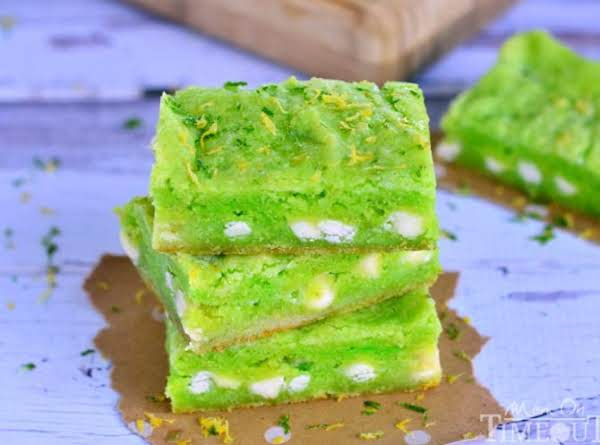 Key Lime Gooey Bars Recipe