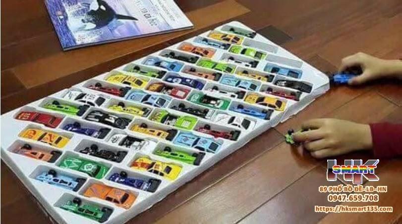 Set ô tô sắt cho bé