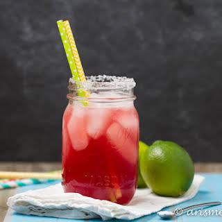 Tart Cherry Margaritas.