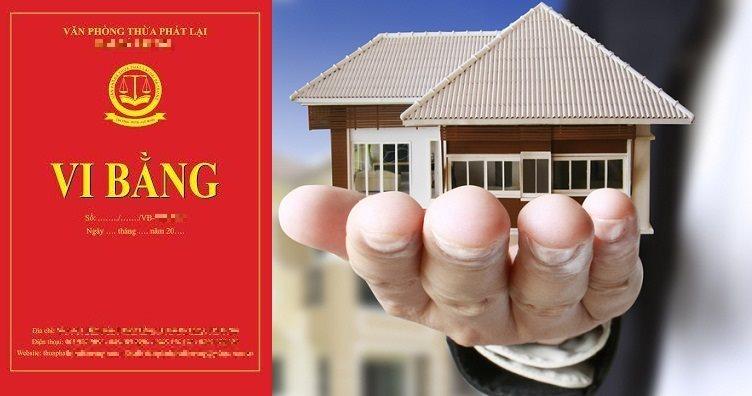 Rủi ro khi mua nhà đất bằng vi bằng