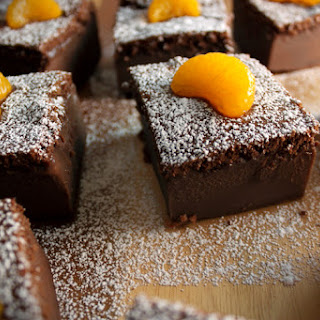 Orange Chocolate Magic Cake.
