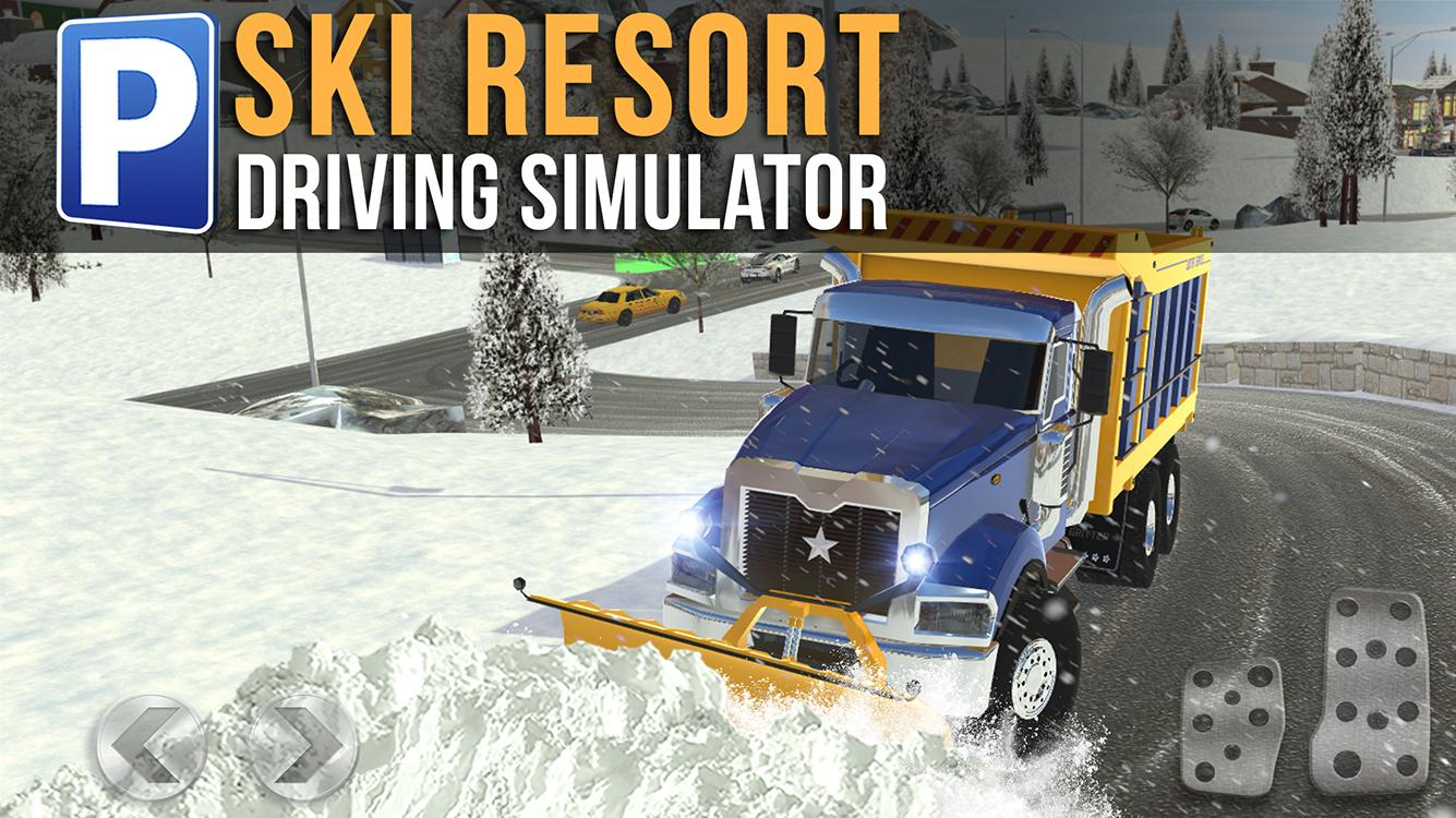 ski resort driving simulator android apps on google play. Black Bedroom Furniture Sets. Home Design Ideas