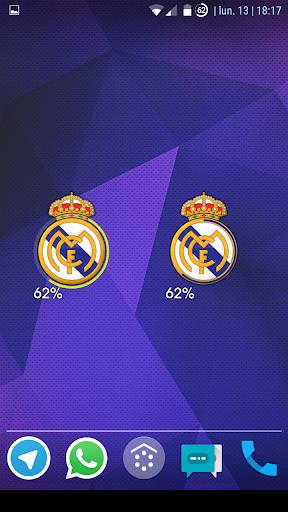 Real Madrid Battery Widget
