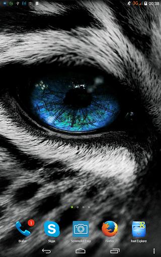 Leopard. Live wallpaper