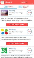 Screenshot of Free Mobile Recharge - UREWARD