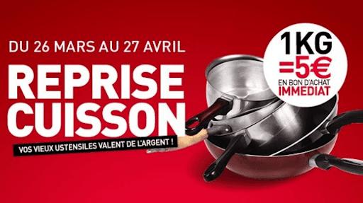 Reprise cuisson A&S