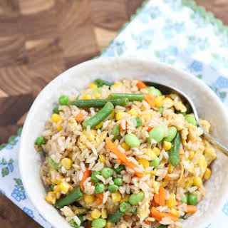 5-Ingredient Vegetable Fried Rice.