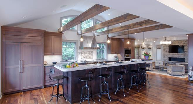 decorative wood ceiling beams