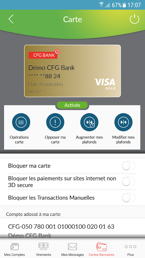 CFG Bank- screenshot