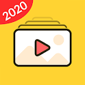 Video Maker - Music Video Editor & Slide Show icon