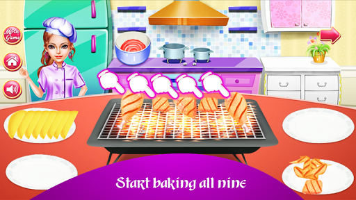 Cooking Chicken Wings- Cooking Diary- Star Chef 1.0 screenshots 1