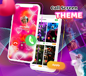 screenshot of Call Screen Themes - Caller Screen, Color Phone