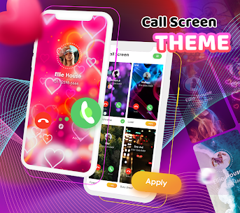 Call Screen Themes – Color Phone, Flash Launcher 4