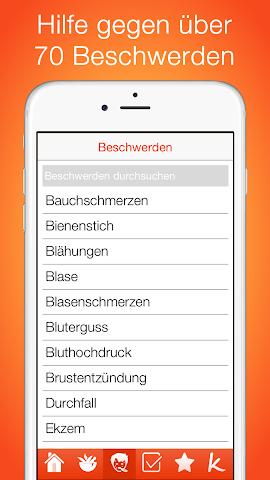 android Natürliche Hausmittel Screenshot 2