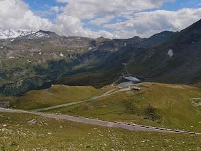 Photo: Uitzicht richting Hochtor vanaf het startpunt van de straat naar de Edelweißspitze.