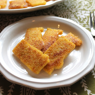 Pan-fried Cornmeal Mush {Amish Family Recipes)