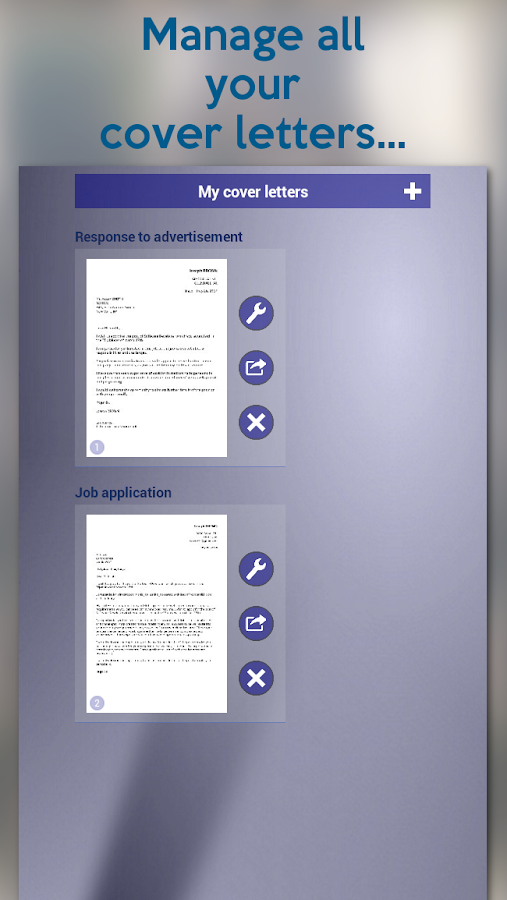 giga-cv My tailor-made resume- screenshot