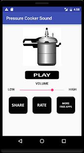 Pressure Cooker Sound - náhled