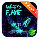 App Download Weed Flame GO Keyboard Animated Theme Install Latest APK downloader