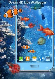 Ocean Fish HD Live Wallpaper - náhled