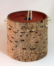 "Photo: Ed Karch 7"" x 6"" Pueblo Kiva [cherry]"