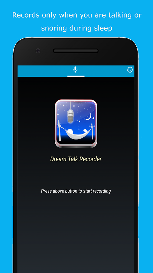 Dream Talk Recorder- screenshot