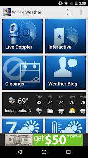 WTHR SkyTrak Weather- screenshot thumbnail