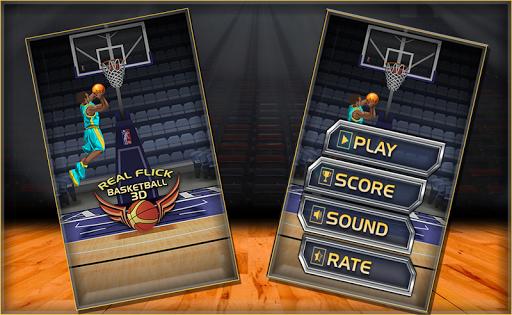 レアルフリックバスケットボール3D