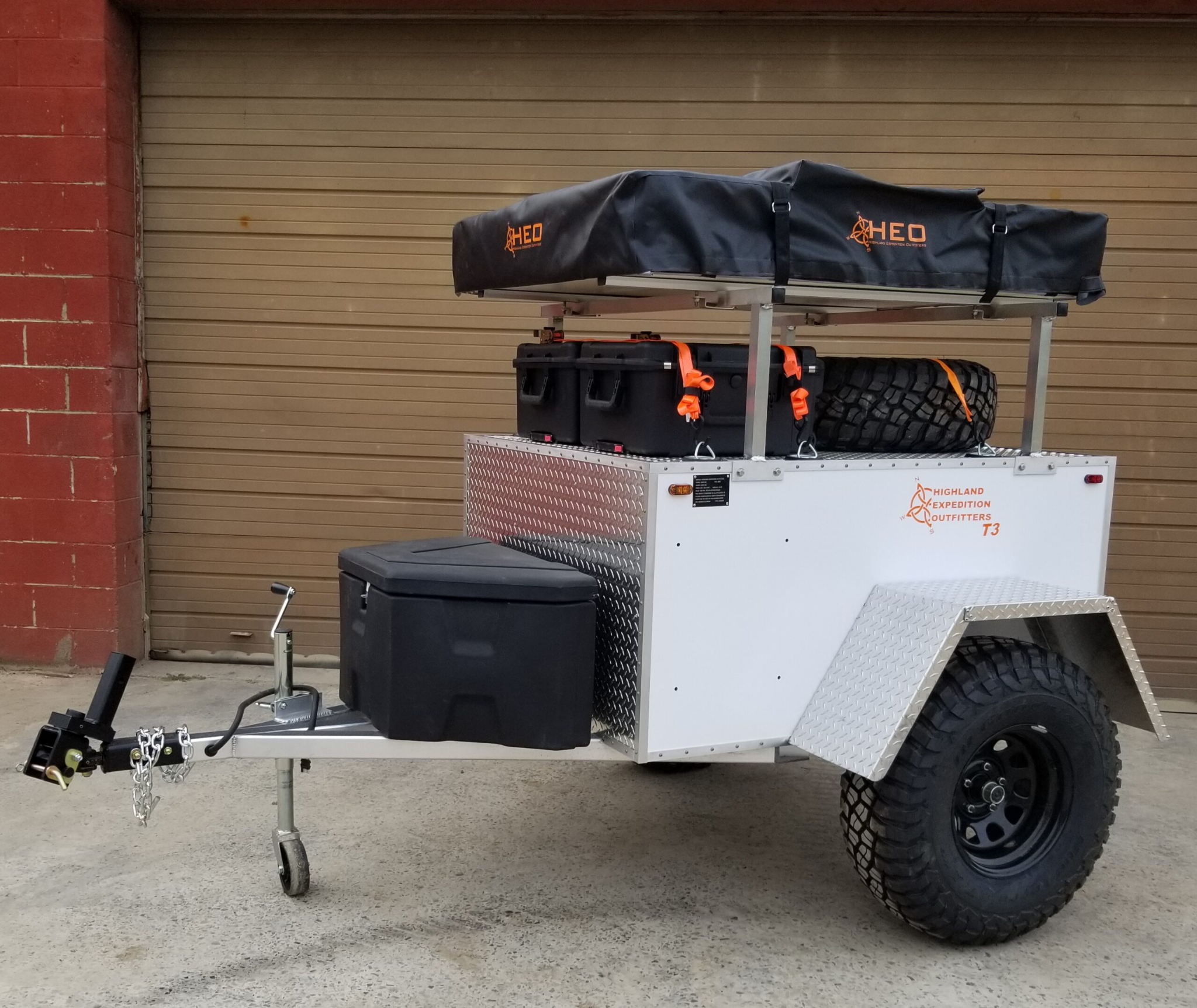 Highland Expedition Outfitters (HEO) T3 cheap boondocking camper