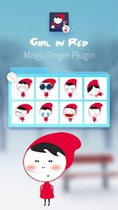 Red Girls-Magic Finger Plugin screenshot 0