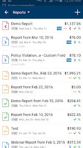Radius Expenses screenshot 1