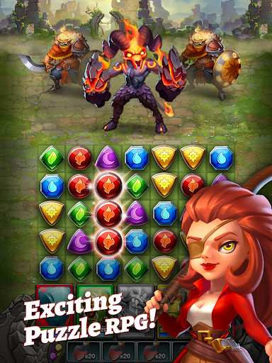Dragon Strike: Puzzle RPG apktram screenshots 13