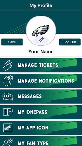 Eagles Official Mobile screenshot 4
