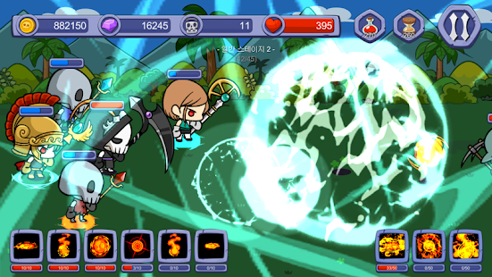 Skull Magician : Grow Ultimate Magic : Tap Clicker - náhled