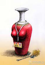 Photo: 邝飚:指定花瓶