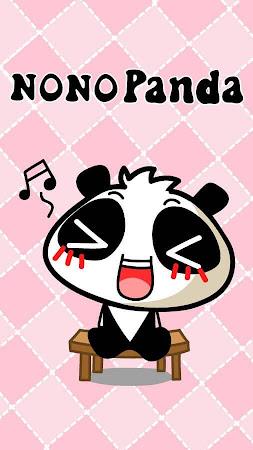 GO Keyboard nono panda Sticker 1.3 screenshot 735544