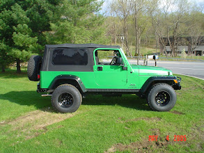 "Photo: 2"" Ome Lift and a 1.25 body lift with 33 BFG's A/T tires on 15x10 steel"