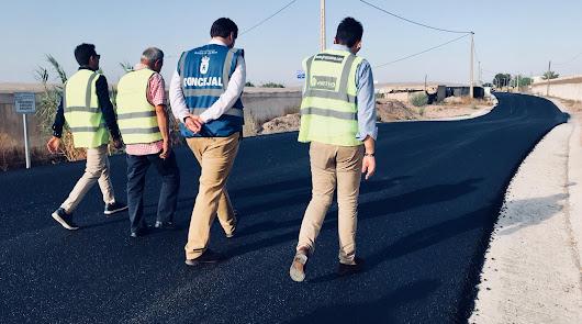 Roquetas aprueba la licitación del asfaltado hasta el año 2024