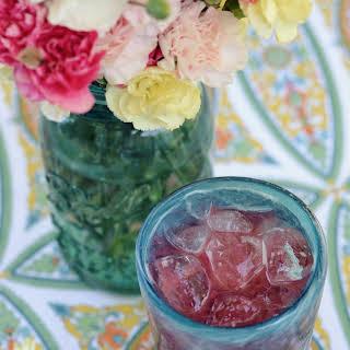 Blackberry Lemonade Vodka Tonics.