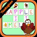 CrossWord puzzle Thanksgiven e icon